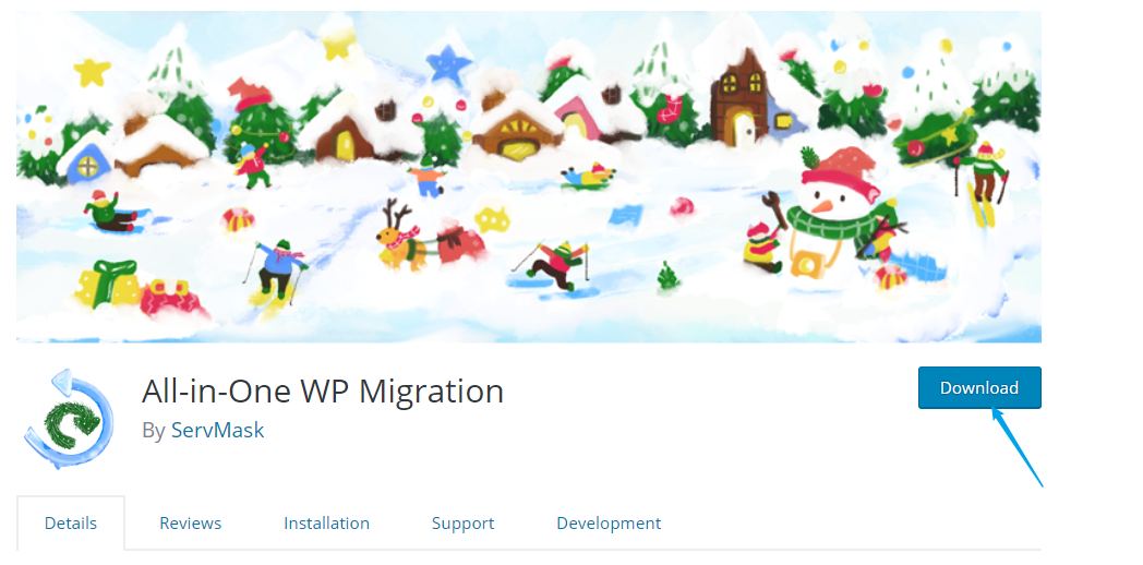 all-in-one-wp-migration-wordpress网站备份