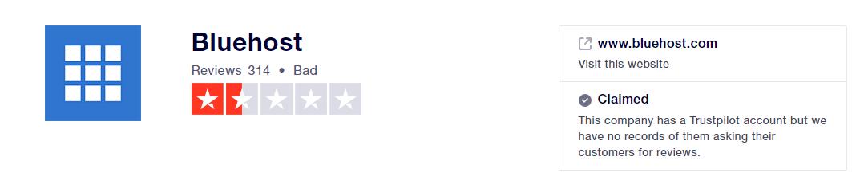 bluehost评价