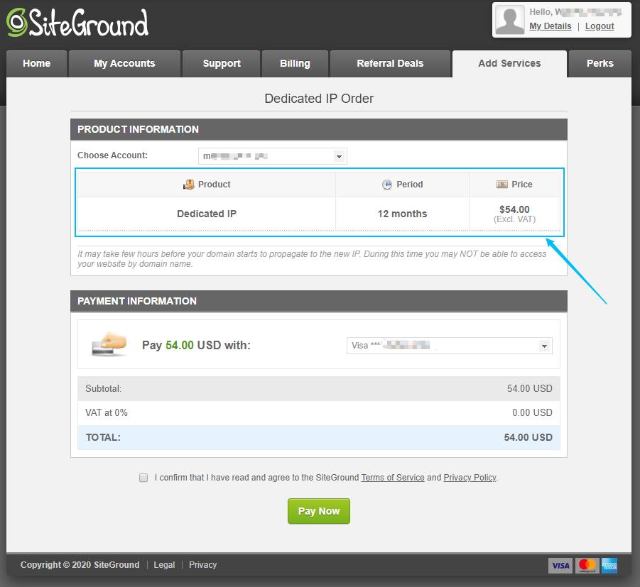 siteground-独立ip-价格